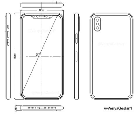 iphone layout dimensions iphone 8 cases leaked confirms its final design and look