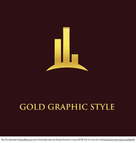 design logo gold 13 gold graphic design vectors images gold ribbon banner