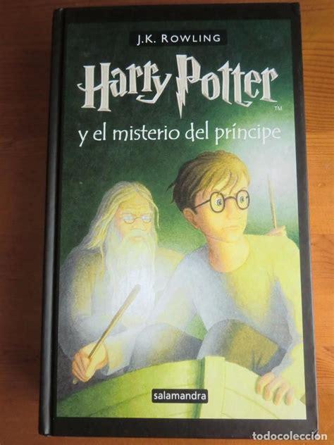 harry potter y el misterio del principe libro leer online libro harry potter y el misterio del pr 237 ncipe comprar libros antiguos de novela infantil y