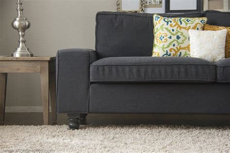 On Sofa Legs Remodelaholic 28 Ways To Bring New To An Sofa