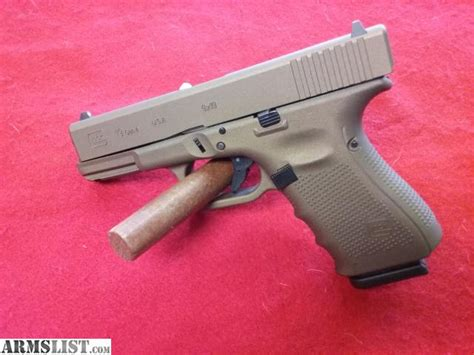 colored handguns armslist for sale glock 19 in bronze color