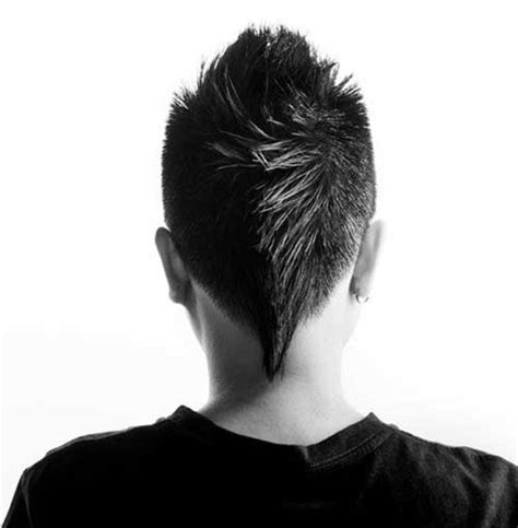 mens haircuts back view 25 best mens mohawk hairstyles mens hairstyles 2018