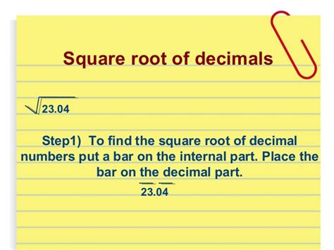 square root of 289 square root of 289 squares square roots class 8th