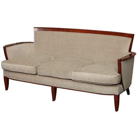 Jules Settee Sofa Three Seat Settee By Jules Leleu At 1stdibs