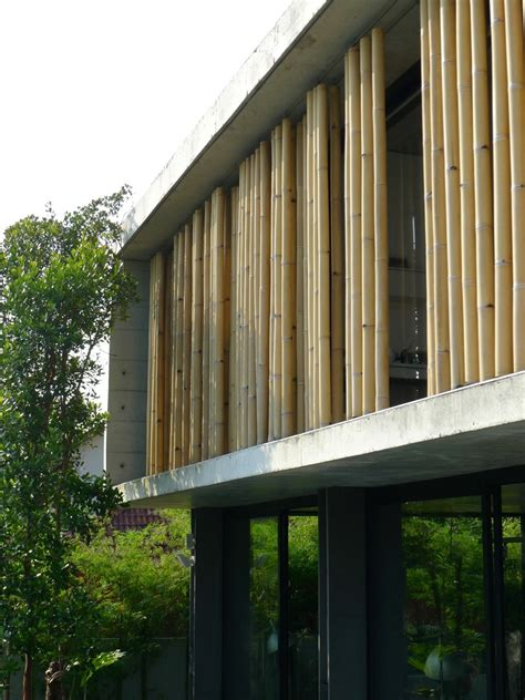 the bamboo curtain gallery of the bamboo curtain house eco id architects 11