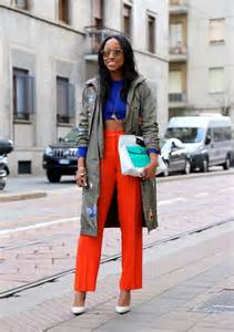 Spring 2017 Trends Street Style Shiona At Just Cavalli