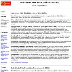 section 504 of ada disability access law pearltrees