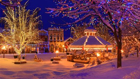 christmas activities in wa state towns in washington