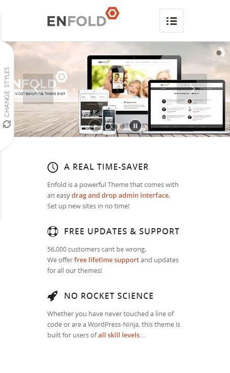 enfold theme framework enfold premium responsive wordpress theme free demo