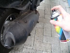 Roller Lackieren Schleifpapier by Roller Wartung Auspuffanlagen Wartung Roller Technik Www