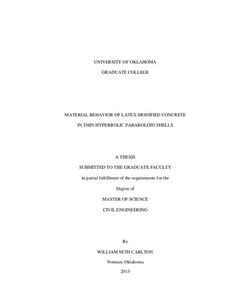thesis acknowledgement latex latex master thesis