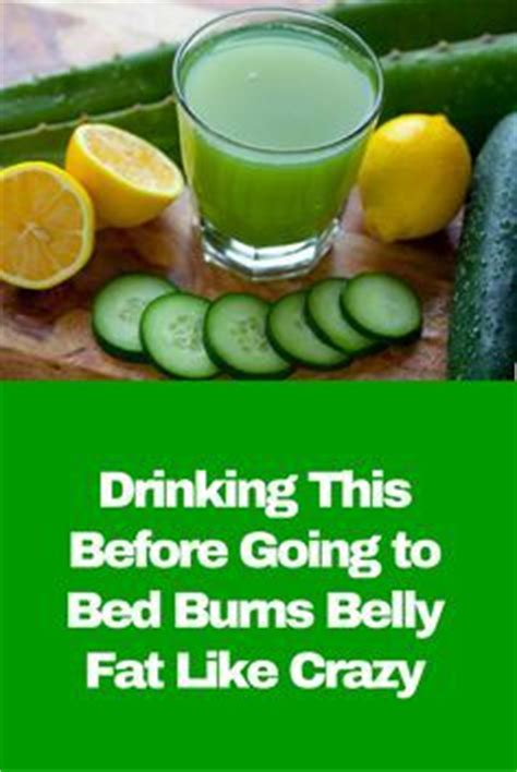 drinking lemon water before bed drinking this before going to bed burns belly fat like