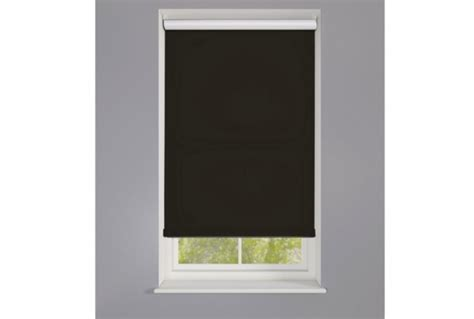 Made To Measure Roller Blinds Made To Measure Roller Blind Black Absolute Home