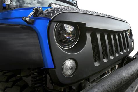 jeep front grill angry bird sport front hood grille 07 17 jeep wrangler jk