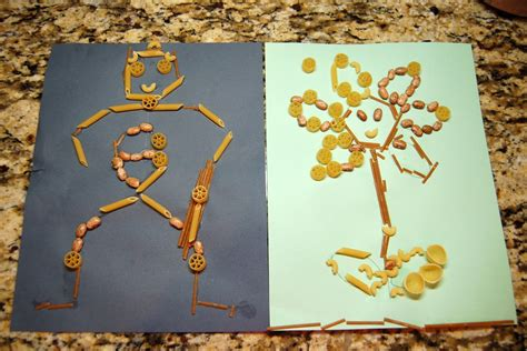 macaroni crafts for kid craft macaroni scattered thoughts of a crafty