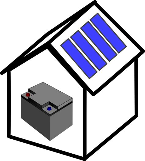 house battery battery power clip art pictures to pin on pinterest pinsdaddy