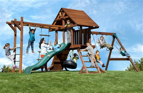 monkey bar swing set swingset with monkey bars two ring deluxe with monkey bars