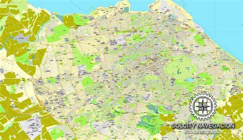 printable maps edinburgh edinburgh scotland uk great britain printable vector
