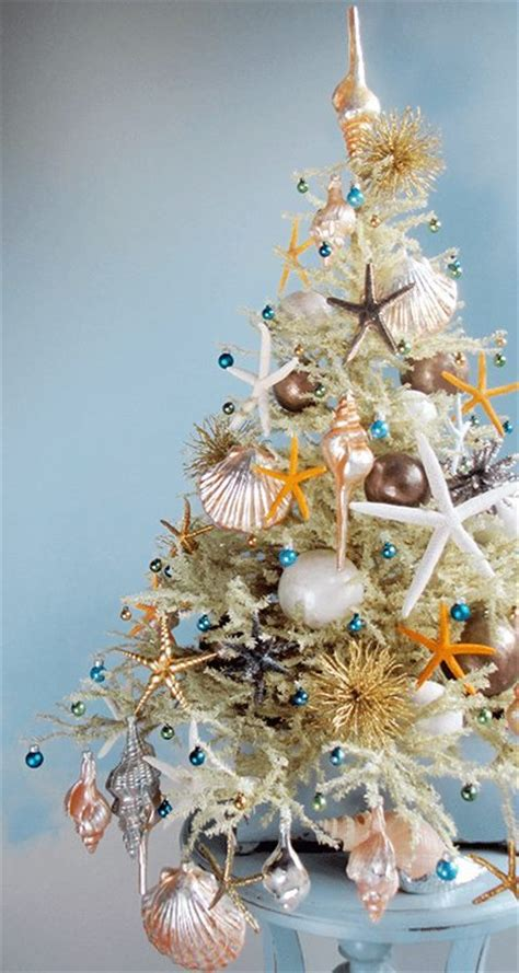 the most marvellous mini beach christmas trees by tree