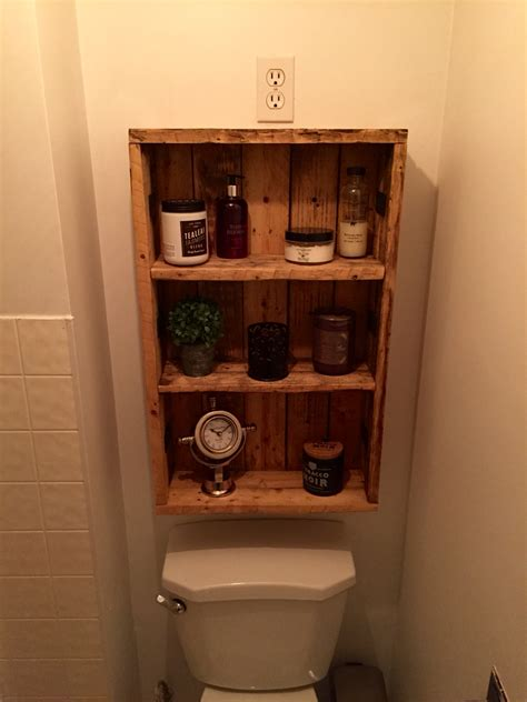 bathroom cupboard ideas rustic medicine cabinet repurposed pallet wood