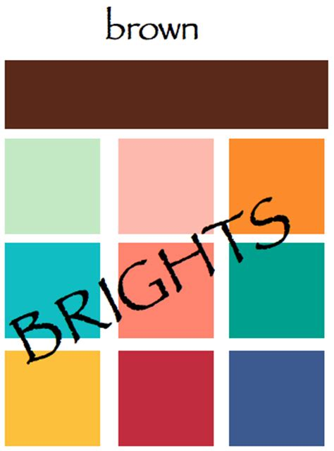 what color goes with brown colors that go with brown colors that go with brown 28