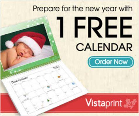 Deal Photo Calendar Vistaprint Deal Free Photo Calendar Southern Savers