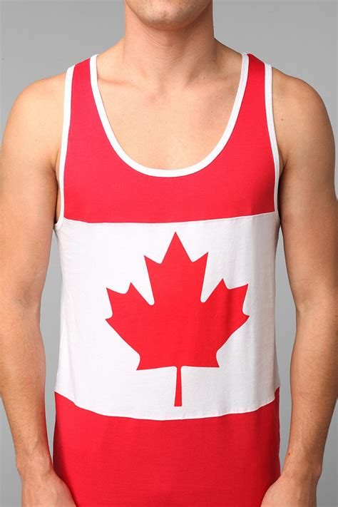 Best Canadian Search Canadian Flag Tank Top Mens Search On The Hunt