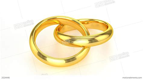 Wedding Rings Animation by Realistic Golden Wedding Rings Stock Animation Royalty
