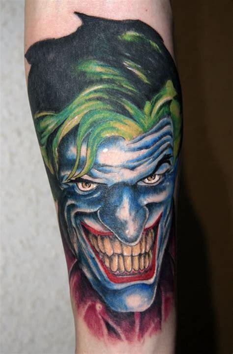 joker laugh tattoo 55 cool joker tattoos