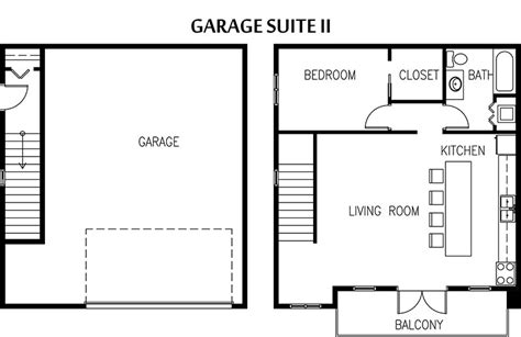 in suite garage floor plan edmonton garage suite builder garage apartment plans