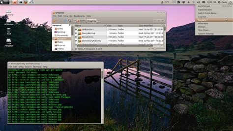 Desktop Bar On Top by Another Linux Distro That I Zorin Os 5 Dragonfly