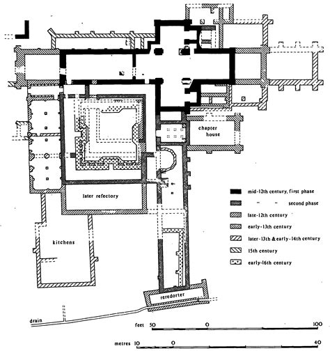 monastery floor plan medieval monastery layout cfxq