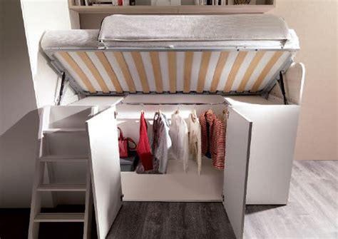 letto con cabina armadio cameretta a soppalco basso con cabina x cab attrezzata