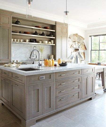 French Oak Kitchen Cabinets | cerused french oak kitchens and cabinets kitchen trend