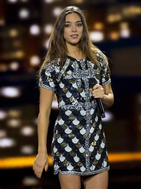 Eurovision Sweepstake 2017 - alexandra maquet rehearsing at the eurovision song contest 2017 in kiev