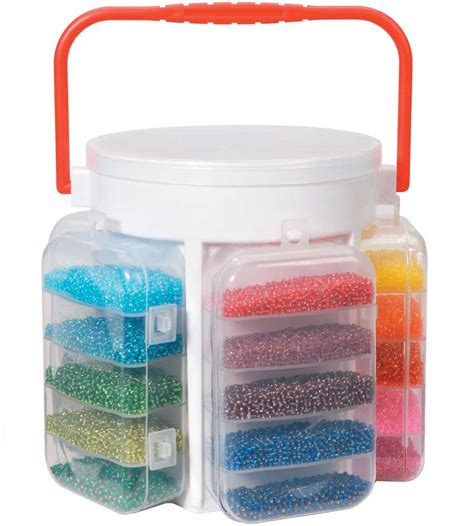 bead container bead storage container in craft storage