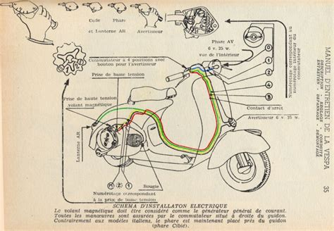 vespa 12v ac diagram vespa free engine image for user