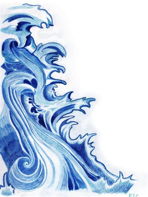how do you draw waves 670px draw a wave japanese style pencil and in color wave