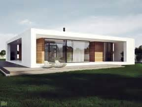Single Story House Designs modern plan of single storey house in stylish design with