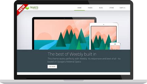 layers premium weebly theme modern web themes