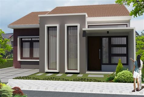 10 gambar rumah minimalis 1 lantai untuk inspirasi anda desain rumah 2 kamar sederhana denah rumah sederhana 2