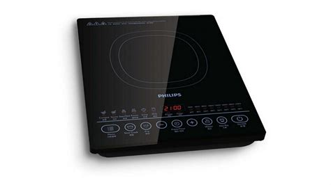 buy induction cooktop buy philips 2100w portable induction cooktop domayne au