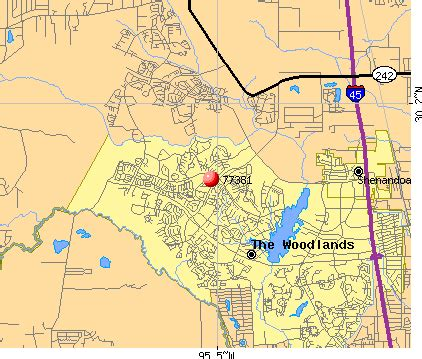 The Woodlands Zip Code Map by 77381 Zip Code The Woodlands Texas Profile Homes