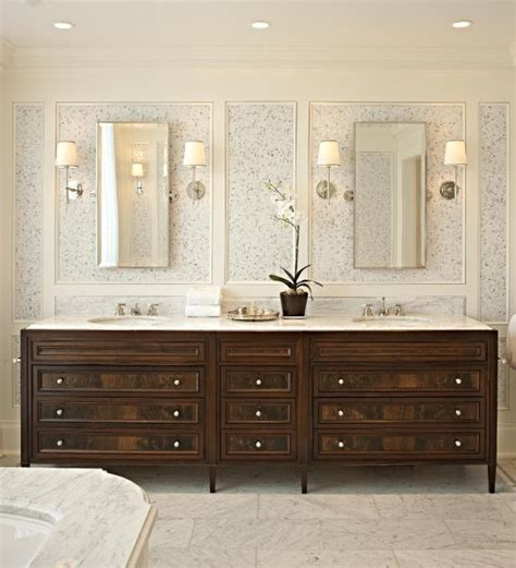 Mahogany Bathroom Furniture Mahogany Cabinets Traditional Bathroom Mcgill Design