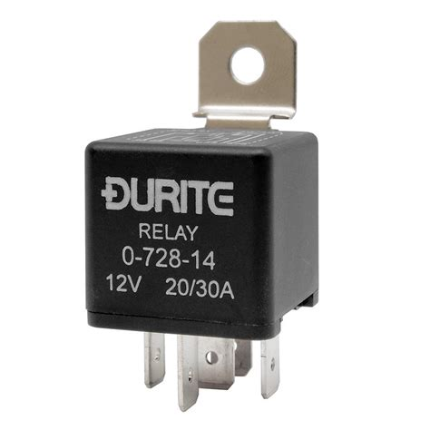 12v relay with diode 0 728 14 durite 12v 20a 30a changeover switch diode relay