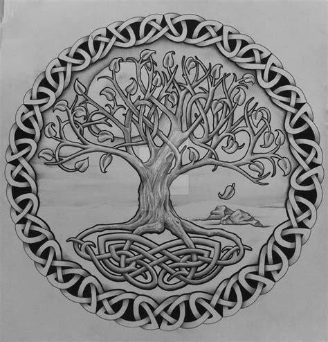 tree of life with rocks by tattoo design on deviantart
