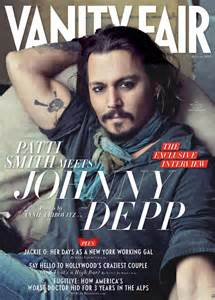 johnny depp for vanity fair cover january 2011 by
