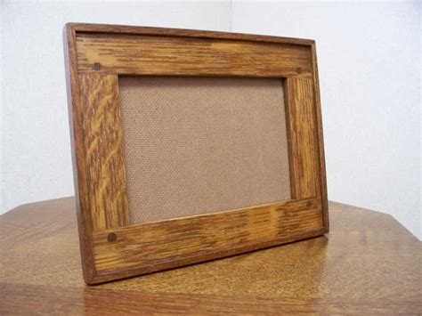 Handcrafted Picture Frames - arts and crafts style photo frames