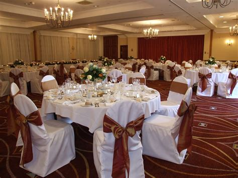 crystal flowers wedding chair covers organza bows to
