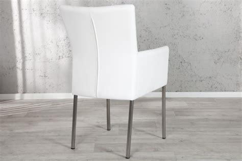 stuhl weiß mit armlehne stuhl urbano mit armlehne weiss